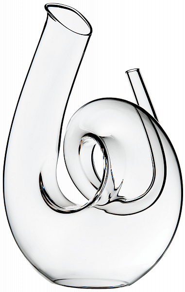 "Riedel ""Curly clear"" Decanter"