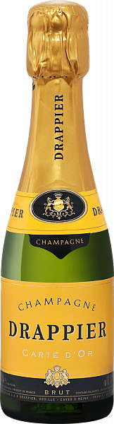 Drappier Carte d'Or Brut Champagne AOP, 0.2л