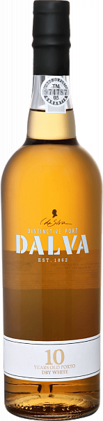 Dalva White Dry 10 Years Port C. Da Silva, 0.75л