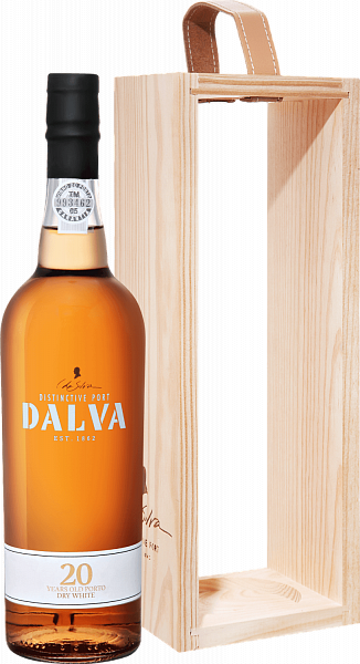 Dalva Porto white dry 20 years old C. Da Silva (gift box), 0.75л